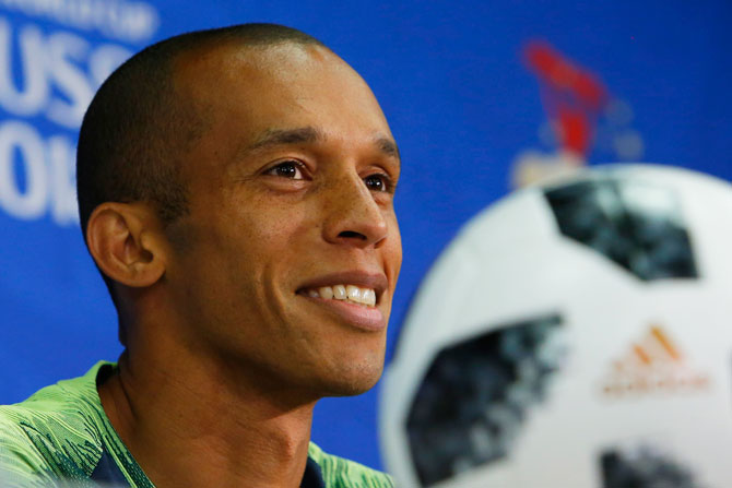 FIFA World Cup: Miranda named Brazil captain for Belgium clash