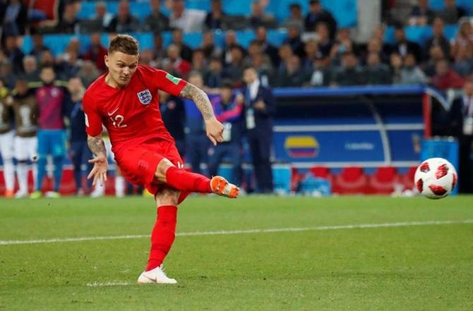 Bending it like Beckham, Trippier is England's 'secret weapon'
