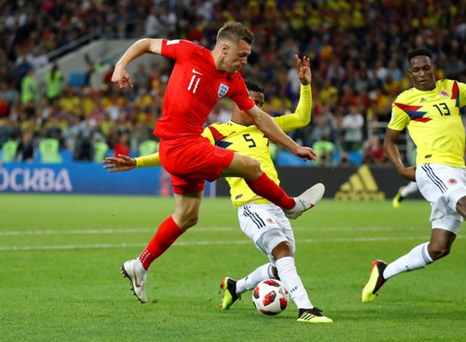 Vardy doubtful for Sweden tie; Danilo ruled out of World Cup