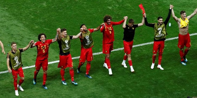 PHOTOS: How Belgium's daring and intelligence outwitted Brazil