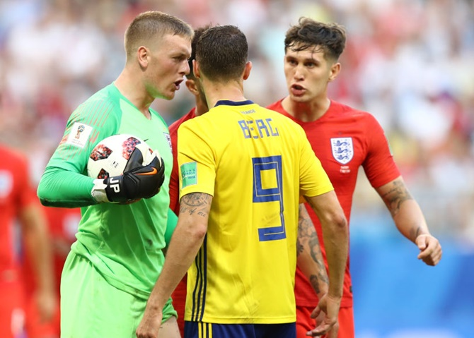 Southgate, and England, reap reward for faith in Pickford