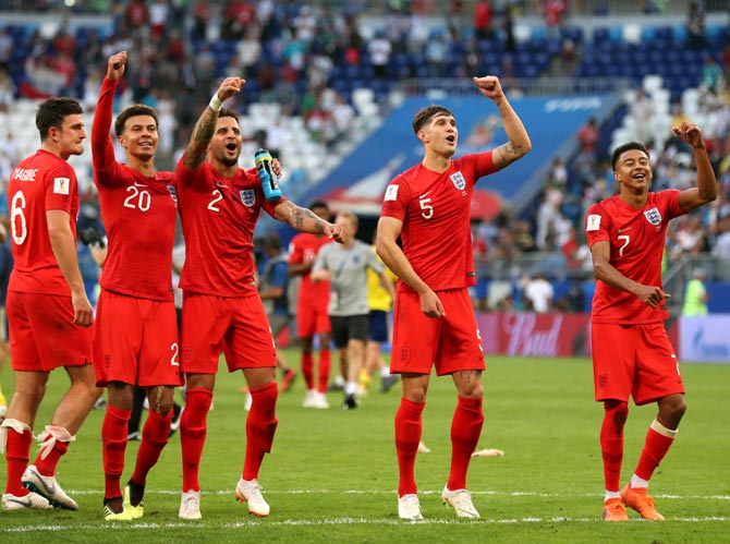 The secret behind England's sensational run at World Cup