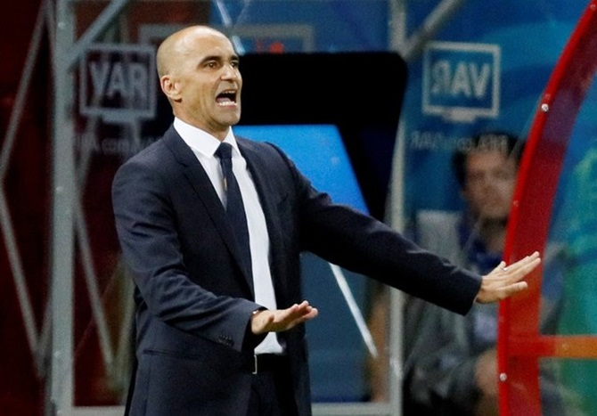 Belgium coach Martinez 'proudest man on earth' after toppling Brazil