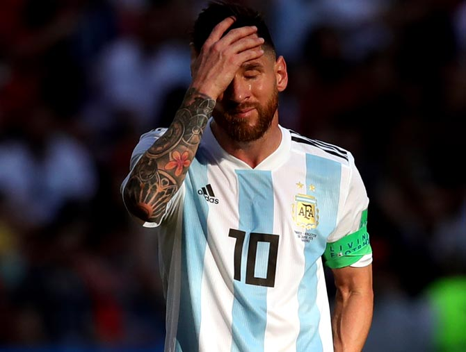 Messi, Neymar flop as South Americans make early exit