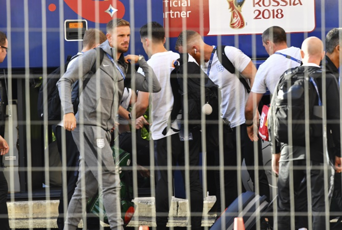Before World Cup game, Sweden forced to evacuate team hotel