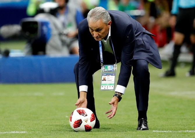 Chance was not on Brazil's side in painful defeat, says Tite