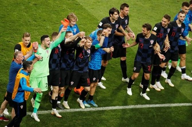 PICS: Russia win hearts, Croatia semis showdown with England