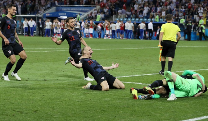PHOTOS: Croatia end Russia's World Cup dream on penalties