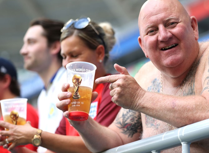 World Cup diary: Fans get true taste of Russia