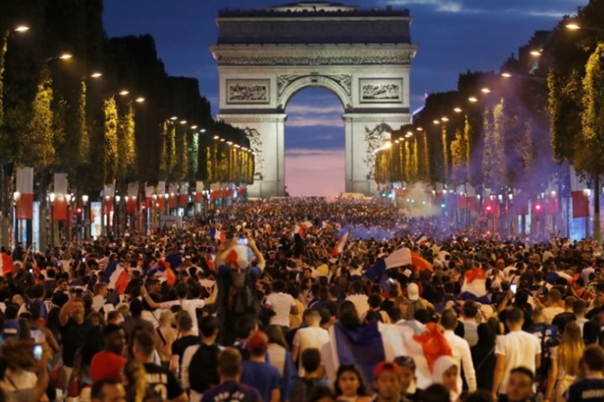 World Cup feats fuel joy and hope in France
