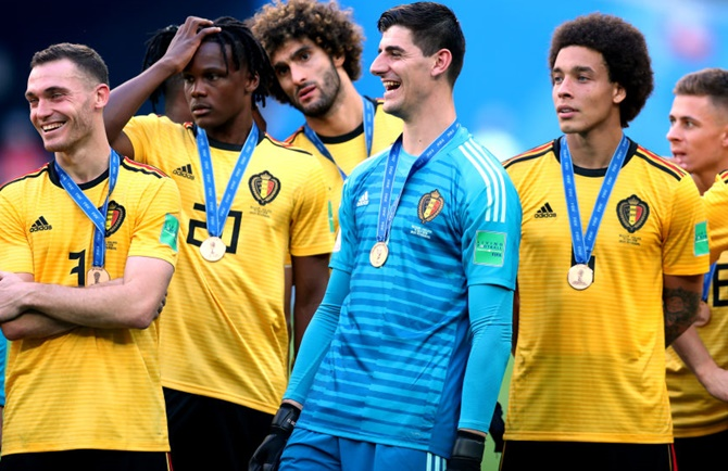 'World Cup third place ensures legacy for Belgian football'