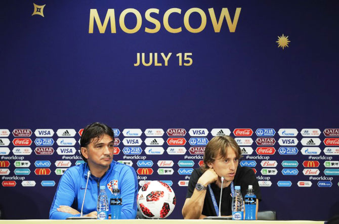 Croatia World Cup final penpix