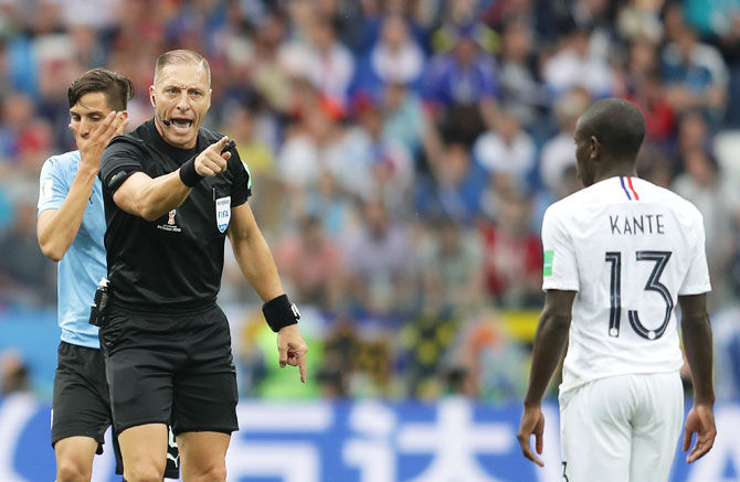 Pitana's path from film extra to World Cup final referee