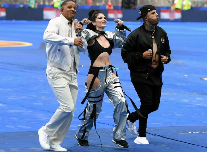 PHOTOS: Will Smith brings down curtain on FIFA World Cup