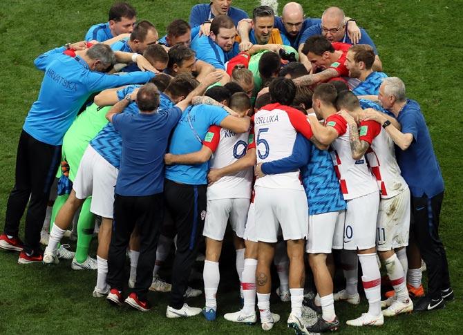 PHOTOS: Croatia fly flag for the little guys