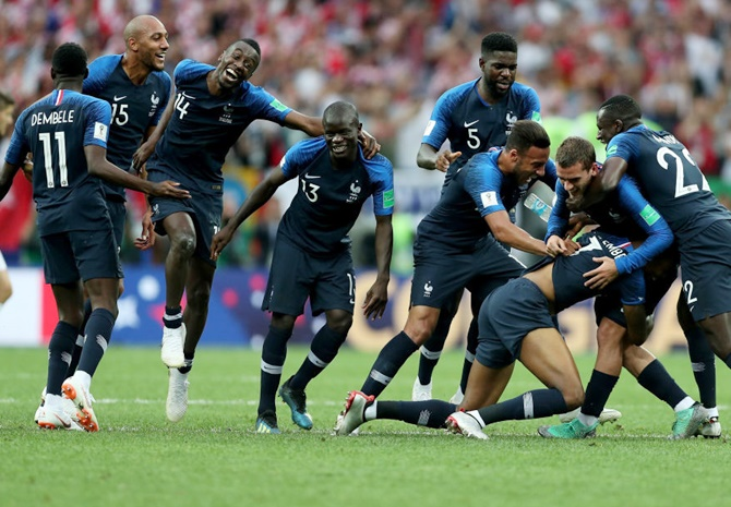 Why World champions France are angry...