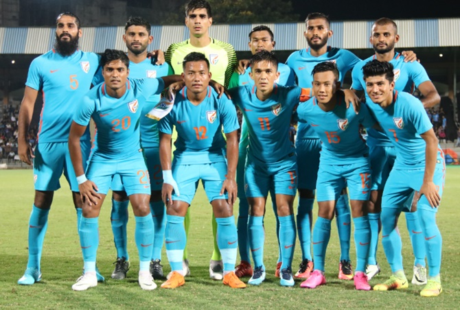 India slips to 104th spot in latest FIFA ranking