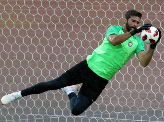 Liverpool sign Brazil goalkeeper Alisson for world record fee