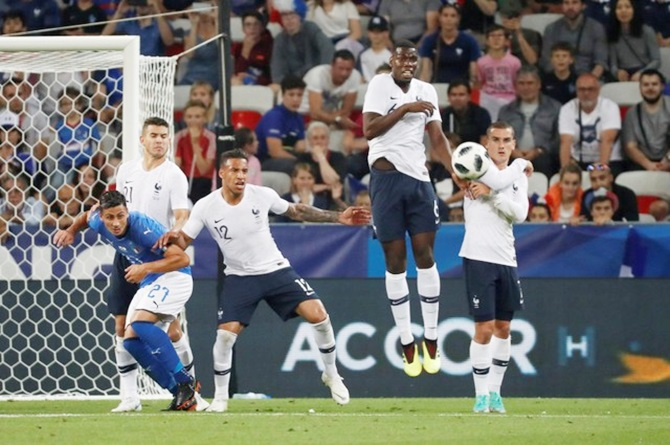 World Cup warm-ups: France show attacking force in win over Italy