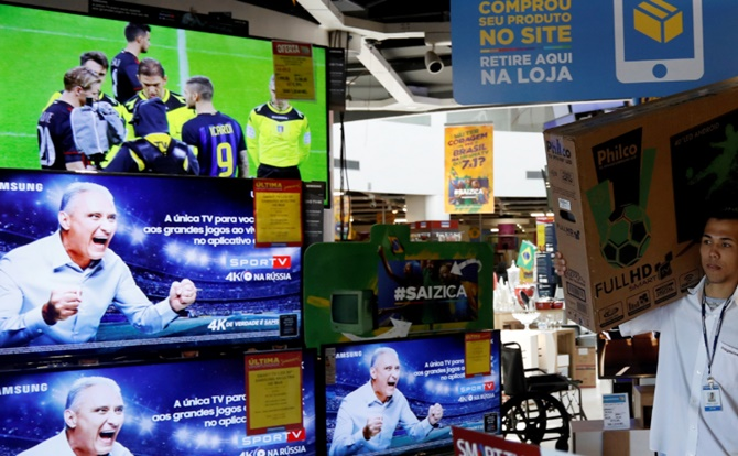 Why soccer-mad Brazilians are rushing to buy TVs