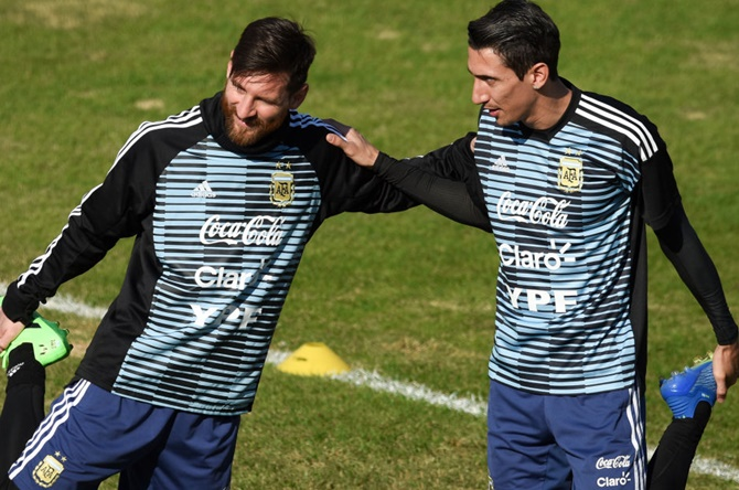 'Argentina focused on lifting World Cup again'