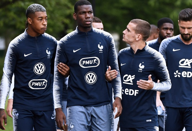 Ahead of World Cup, France claims a win in off-pitch context