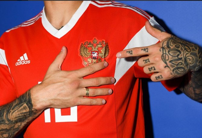 2624b6169285 14 Jerseys to look out for at 2018 FIFA World Cup - Rediff Sports