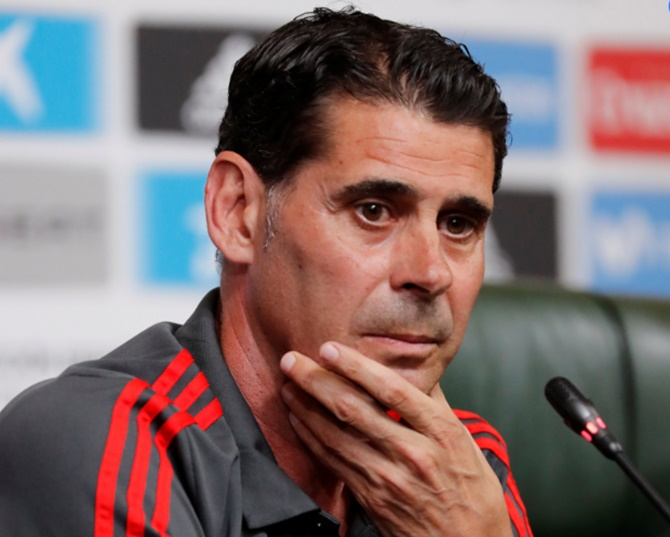 New coach Hierro to carry on Lopetegui's good work with Spain