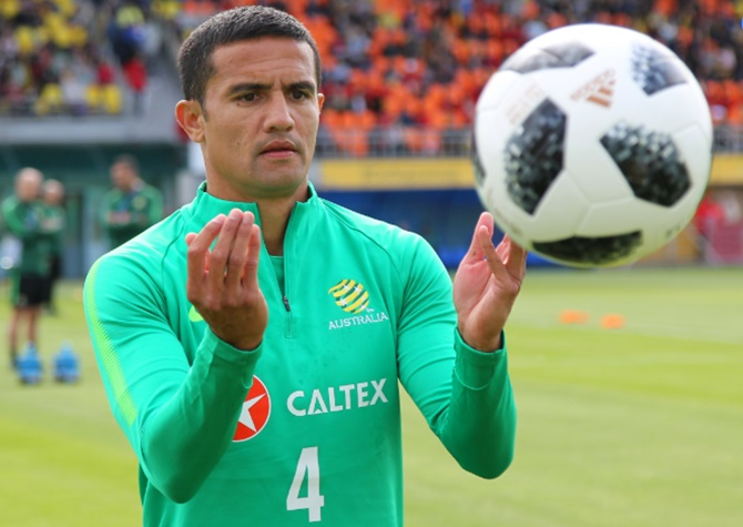 Tim Cahill is Australia's highest goal-scorer