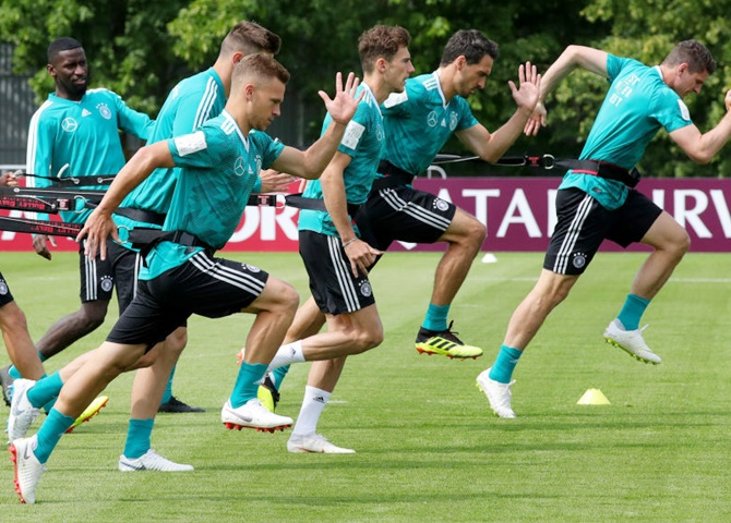 WC Preview: Germans ready to confirm favourites tag against Mexico