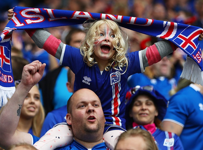 Iceland shaping up to be a true fan favourite at World Cup