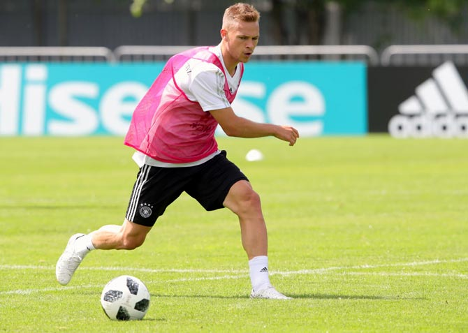 Germany's Kimmich living the dream, not trying to be Lahm 2.0