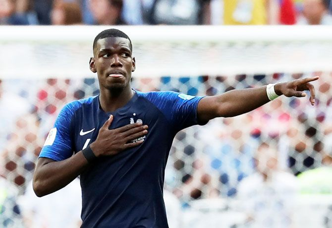 Paul Pogba added that he was taking legal action against the publishers.