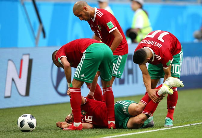 World Cup Diary: Amrabat out of hospital but also out of next game