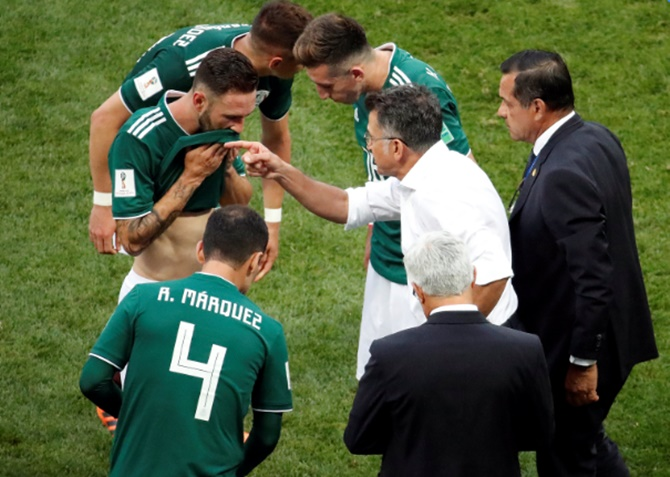 How Mexico caught the naive Germans napping...