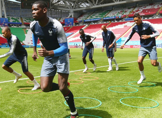 WC Preview: France to ramp up intensity against Peru