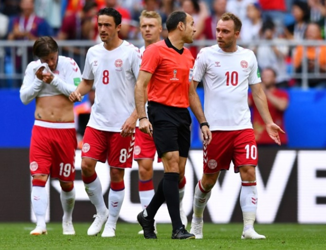 Denmark bitter about double VAR blow