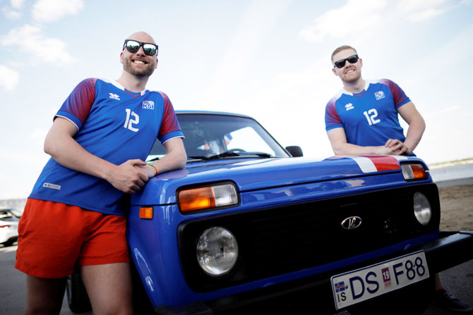 World Cup diary: Iceland fans show their Viking spirit