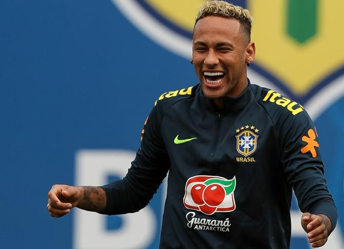 Brazil coach Tite and his players, including Neymar, encouraged fans to donate and athletes from other sports to participate in the campaign.