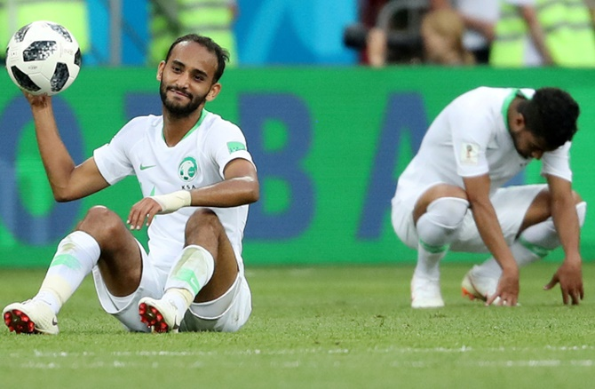 Saudi Arabia take positives for Asian Cup after Russia exit
