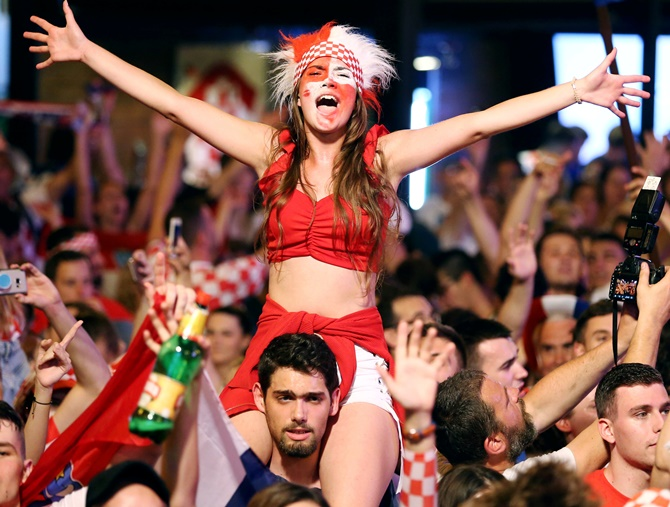 FIFA World Cup: Best Fan of the Day