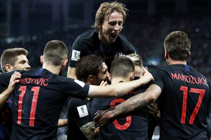 World Cup: Croatia crush Argentina 3-0 to reach knockout stage