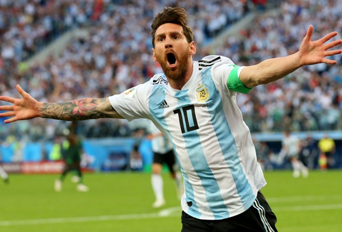 Messi has not played for his country since their last-16 exit at the hands of eventual champions France, opting to take a sabbatical
