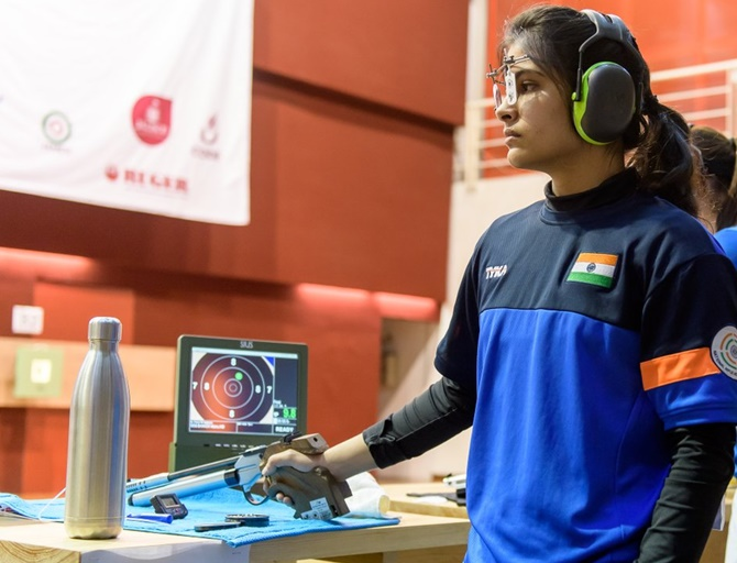 Shooting World Cup: Manu, Heena fizzle out in qualifications