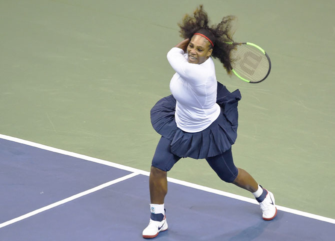 Serena Williams, who won her 23rd Grand Slam title at last year's Australian Open before going on maternity leave, returned to the tennis courts, last month when she represented the United States in a Fed Cup doubles match, and is scheduled to take part in the BNP Paribas Open at Indian Wells this week