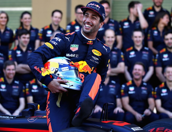 Red Bull Racing's Australian driver Daniel Ricciardo says 'we're feeling much more prepared'