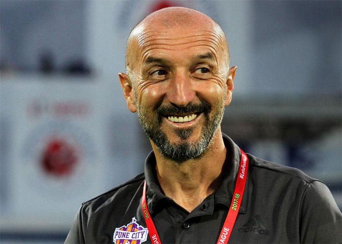 FC Pune City's coach Ranko Popovic