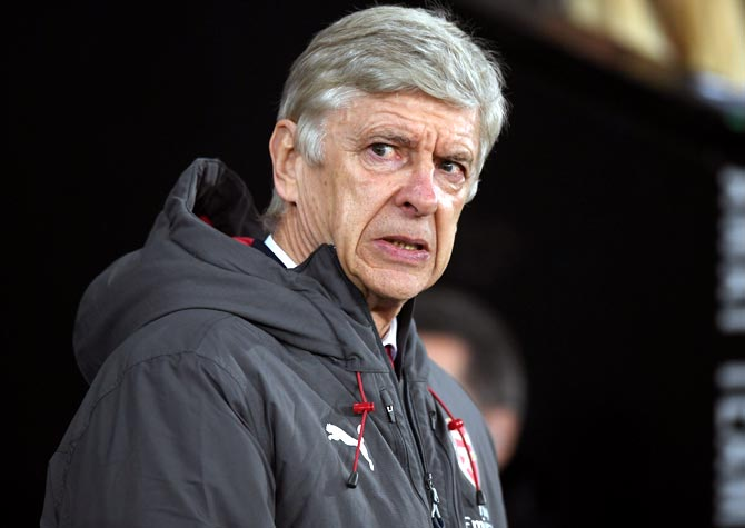 Suffering is part of my job, says Wenger