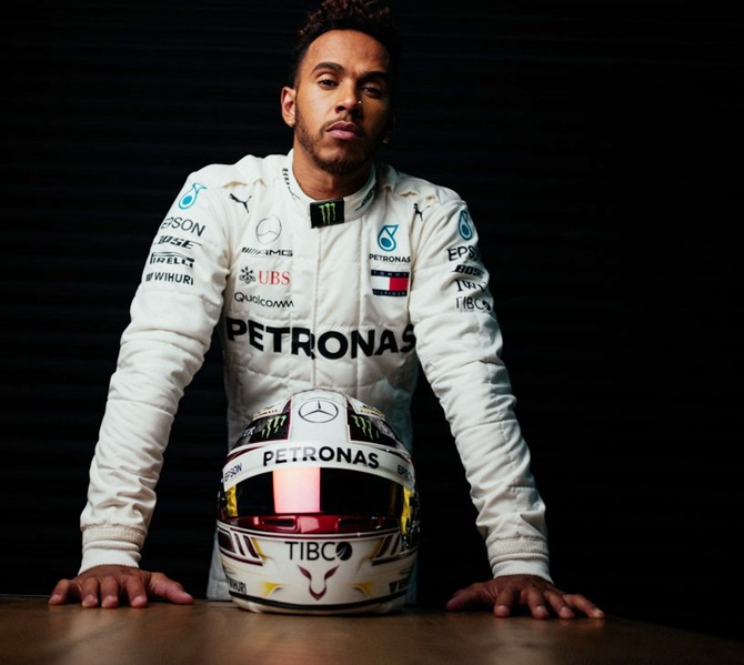 Lewis Hamilton is the bookmakers' favourite to defend the title