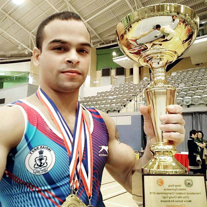 India at CWG: Gymnast Patra eyes medal for better life